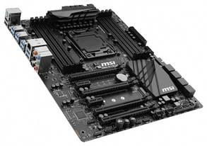 "Материнская плата MSI X99A SLI PLUS s.2011-3 DDR4 Intel X99 ""Over-Stock"" Б/У"