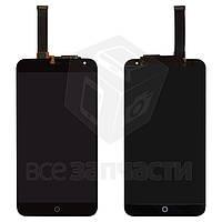 """Дисплей для мобильного телефона Meizu MX4 5.3"""", черный, с сенсорным экраном, original (PRC)"""