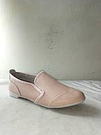 Туфли женские летние кожаные CAMIDY