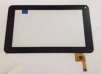 Оригинальный тачскрин сенсор (сенсорное стекло) Globex GU701C GU702R черный, для платы на процессоре Allwinner