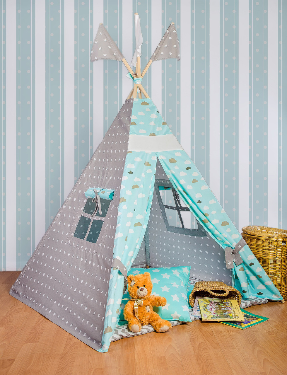 Вигвам - палатка  «Голубые облака»