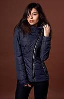 Женская курточка с манжетами на рукавах