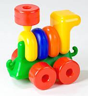 Паровоз Toys Plast