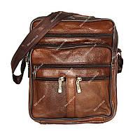 Вместительная кожаная сумка для мужчин (8091 ск)