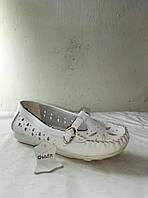 Туфли женские кожаные летние CHANG