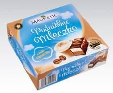 Конфеты птичье молоко Magnetic Podniebne Mleczko Cappuccino, 500г, фото 2