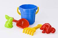 Песочный набор Ромашка Toys Plast