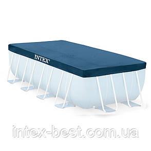 Intex 28037 - тент для каркасного бассейна Rectangular Ultra Frame 400x200 см, фото 2