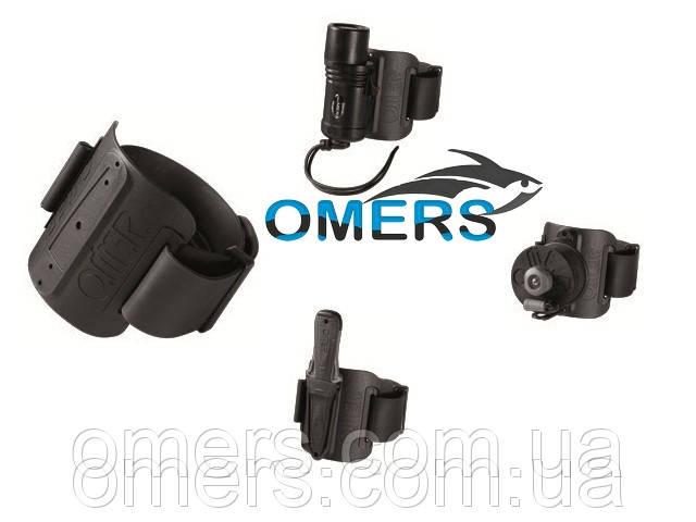 Универсальный крепеж на руку O.ME.R для фонаря, катушки или ножа