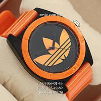 Часы Adidas Log  оранжевый/ черный