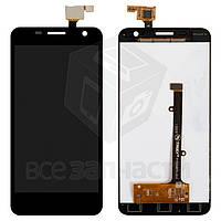 Дисплей для мобильного телефона Alcatel One Touch 6012 Idol Mini Sate, черный, с сенсорным экраном
