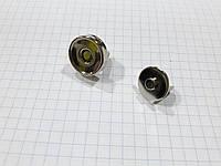 Кнопка магнитная С2853 никель 15 мм