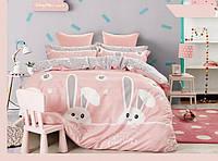 Комплект постельного белья полуторный сатин bella villa 0064