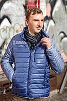 "Куртка демисезонная ""Спорт"" - голубой 236, фото 1"
