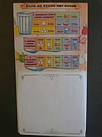 Блокнот на магните (на холодильник)