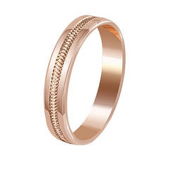 Обручальные кольца Европейка с алмазной гранью