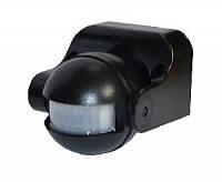 Датчик движения АСКОУКРЕМ инфракрасный 180° IP44 черный/белый
