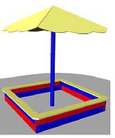 Навес для песочницы  Грибочек, фото 1
