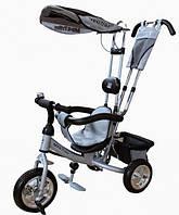 Велосипед 3-х колісний Mini Trike (сріблястий)