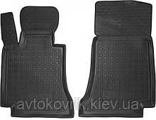 Полиуретановые передние коврики в салон Mercedes C-Class (W205) 2014- (AVTO-GUMM)