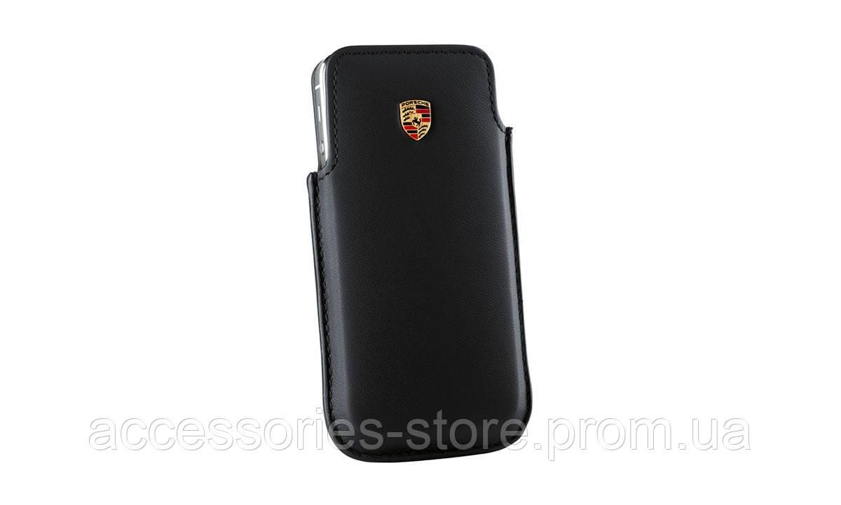 Кожаный чехол Porsche для iPhone 6 Plus / Samsung S5 Case