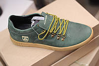 Мужские кожаные спортивные туфли Hilfiger,качество, зеленые