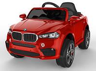 Электромобиль детский BMW J1703 красный
