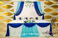 Оформление зала на свадьбу в Харькове