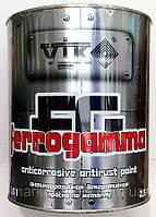 Краска по металлу Vik Ferrogamma античная медь 0,75 L
