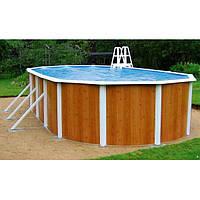 Овальный каркасный бассейн Atlantic Pools Esprit - Wood