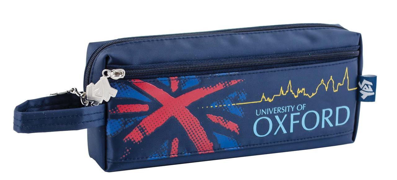 531404 Пенал м'який Oxford blue, 20*8.5*4