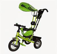 Велосипед 3-х колесный Mini Trike надувные (зеленый)