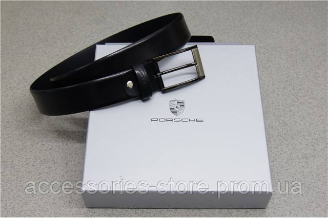 Мужской кожаный ремень Porsche Men's Leather Belt