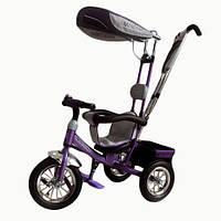 Велосипед 3-х колесный Mini Trike надувные (фиолетовый)