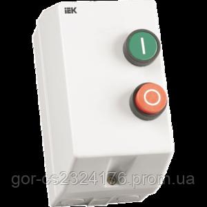 Контактор КМИ11260 12А в оболочке Ue=220В IEK