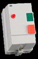 Контактор КМИ11860 18А в оболочке с индик. Ue=380В IEK