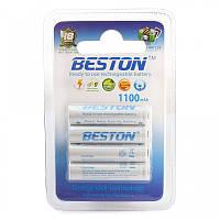 Аккумулятор Beston AAA 1100mAh Ni-MH, RTU, 4шт