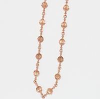 Серебряная цепочка с позолотой 10350-З