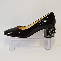 Женские лакированные туфли Aquamarin 565, фото 3