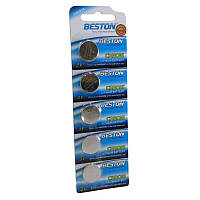 Батарейка Beston CR-2016 90mAh Lithium, 5шт