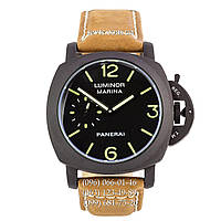 Механические часы Panerai Luminor 1950 Marina Automatic Big Dial Brown-Black унисекс с автоподзаводом