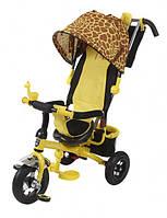 Велосипед для ребенка 3-х колесный Mini Trike надувные Зоо (жираф)