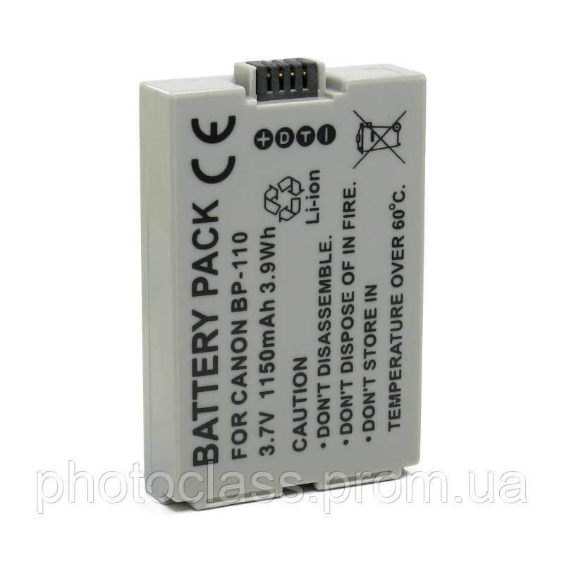 Аккумулятор Extradigital для Canon BP-110 Chip - Аккумуляторы, фотоаппараты, объективы, вспышки, студийное оборудование. в Харькове
