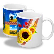 Чашки Украина (чашки с украинской символикой)