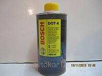 Тормозная жидкость DOT 4, 1л BOSCH