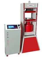 Пресс для испытаний на сжатие 2000 кН для образцов бетонных  блоков до 500x300 мм
