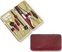Набор маникюрно-педикюрный  Niegelon 07-0713,  8 предметов, золото