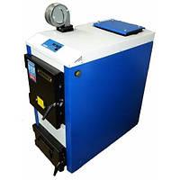 Твердотопливный котел Tehni-x KOTВ-24-ДГ-М professional, сталь 4 мм, фото 1