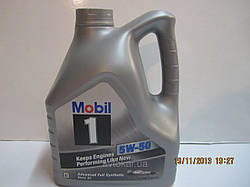 Масло моторное 5W-50, 4 л MOBIL1