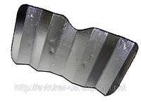 Шторка солнцезащитная зеркальная 150*70